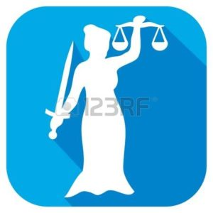 Graphic of lady justice 70 Employers NC Industrial Commission