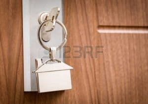 Picture of Key On Door Knob Hiring an Insurance Consultant Or Any Advisor