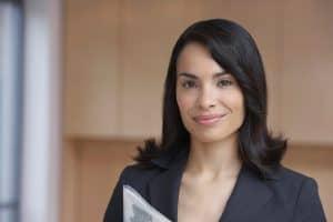 Female Insurance Consultant Close up Picture