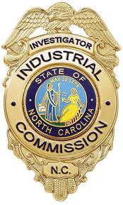 Badge of NC Industrial Commission Workers Comp costs