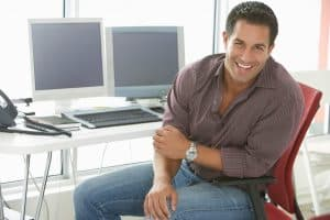 Picture Workmans or Workmens Comp Office Portrait