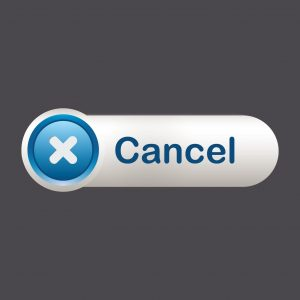 Graphic Cancellation Notice Button