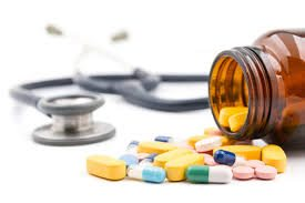 Picture of Medicines With Stethoscope Medical Fee Schedules