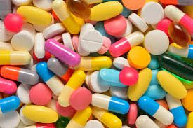 Picture of Medicines narcotics assorted Capsules and Tablets