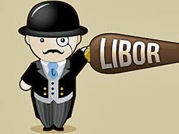 Vector Graphic Of LIBOR Scandal And Hard Market