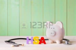 Picture of HSA Letter 1600% Savings with Piggy Bank and Stethoscope