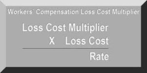 Workers Compensation California Loss Cost Multiplier Emblem From Web