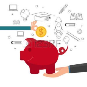 Vector Graphic of Hands Carrying piggy bank Great Premium Deals Really Save Money