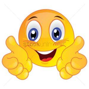 Emoticons Color Yellow Smiley SB 863 Webinar Thumbs Up