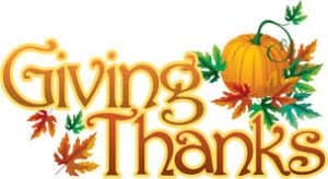Graphic of Giving Thanks For Workers Compensation