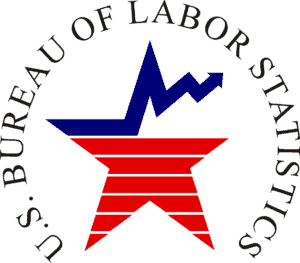 U.S Bureau Of Labor Statistics Employment Numbers Logo