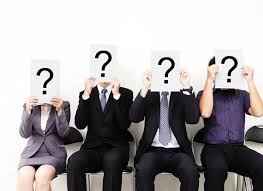 Picture of Employer Handling Question Mark covering their Head California Employer Question Concept