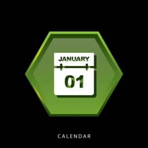 Graphic Of January 1 Workers Comp Self Insureds Calendar Icon