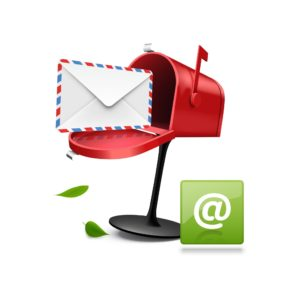 Graphic Of Mailbox Insurance Policy Quote With E-Mail Icon
