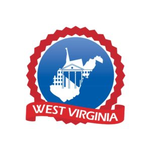 Map Of West Virginia Premium Auditor Logo