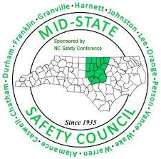 Map of Mid State Safety Council North Carolina