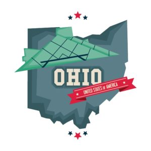 Graphic of Map with Rock Monopolistic Ohio Overcharges