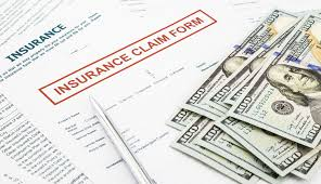 Picture Of Stairstepping Reserves Insurance Form And Dollars