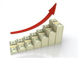 Graphic of Stairstepping Reserves Dollar Bundle With Arrow Increase