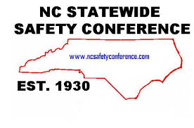 Map of NC Statewide Safety Conference EST.1930
