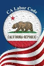 CA Labor Code of California Physical Premium Audits emblem from web