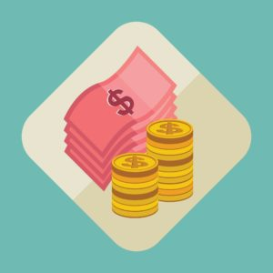 Graphic Of Money Deposit Premium Icon