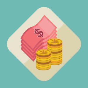 Graphic Of Money Deposit Premium Icon