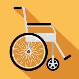 Wheel chair nebraska supreme court Vector