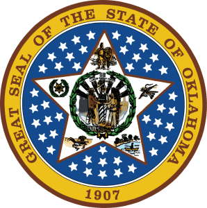 Oklahoma Opt Out Program Great Seal