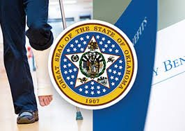 Picture of Disability and Great Seal of The State Of Oklahoma Badge Opt Out Program