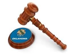 Picture of oklahoma Tag On Gavel
