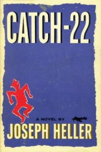 Graphic Of Two Books Catch - 22