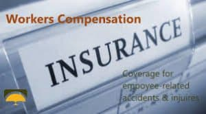 Coverage for employee related accidents and injury Workers Comp Insurance Concept