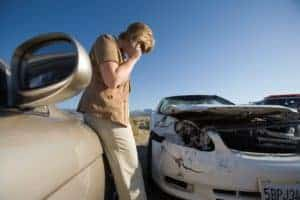 Picture Of Man Calling On Phone Statistical Madness Car Accident