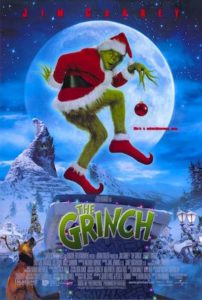 Poster Of Bad Santa Grinch