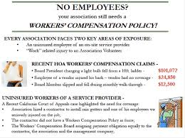 Picture of Workers Comp Policy to No Employees