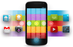 Cellphone Android apps Icons