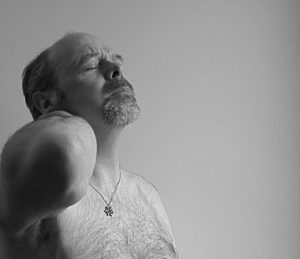 Picture Of Man With Chronic Pain 101 Black And White Picture