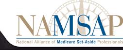 NAMSAP National Association of Medicare Set Aside Professionals Emblem from web