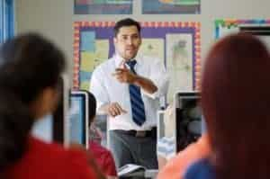 Picture Of Student Teacher Violence Teaching