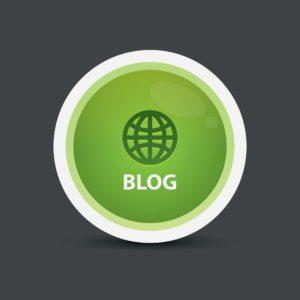 Blog Button Top 5 Popular Posts Vector Image