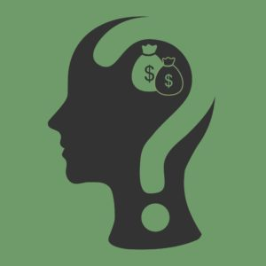 Graphic Of Human Head Live CA WCIRB Webinar With Dollar an Question Mark