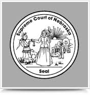 Seal of Nebraska Supreme Court Cases emblem from web