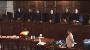 Picture of Nebraska Supreme Court Decision Concept
