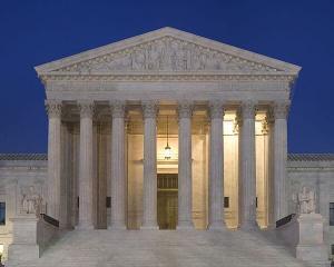 Front Nebraska Supreme Court Dusk