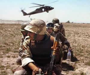 War defense base act in iraq