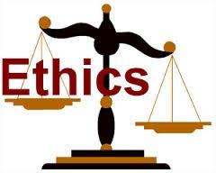 Clipart of Ethics in Workers Compensation Scales