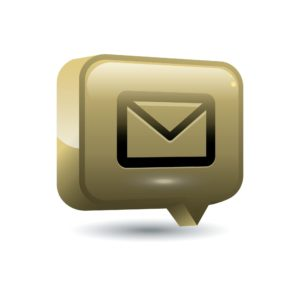 Vector Of Email Mobi Site Icon