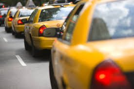 Picture Of Independent Contractor yellow taxi