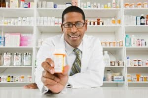 Male Pharmacist Proove Pharmaceuticals Medicine